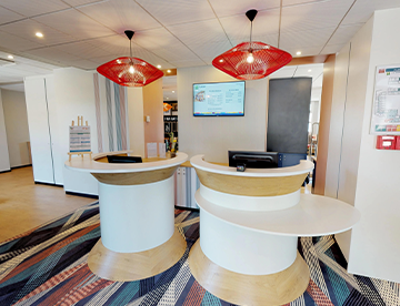 Visite virtuelle Hotellerie